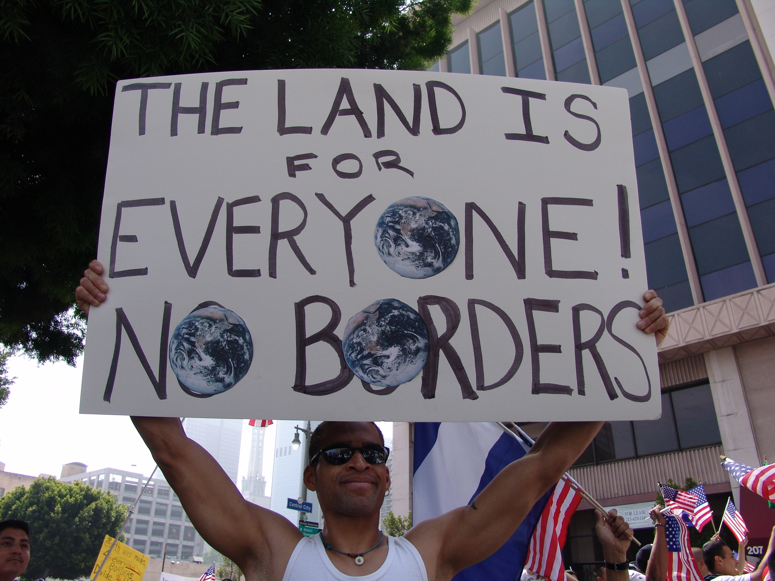 the immigration crisis Some democrats have speculated that trump is using the humanitarian crisis as leverage to negotiate a tougher immigration bill, an assertion the white house has rejected.