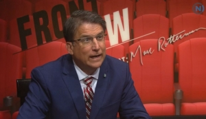 McCrory on Rotterman show