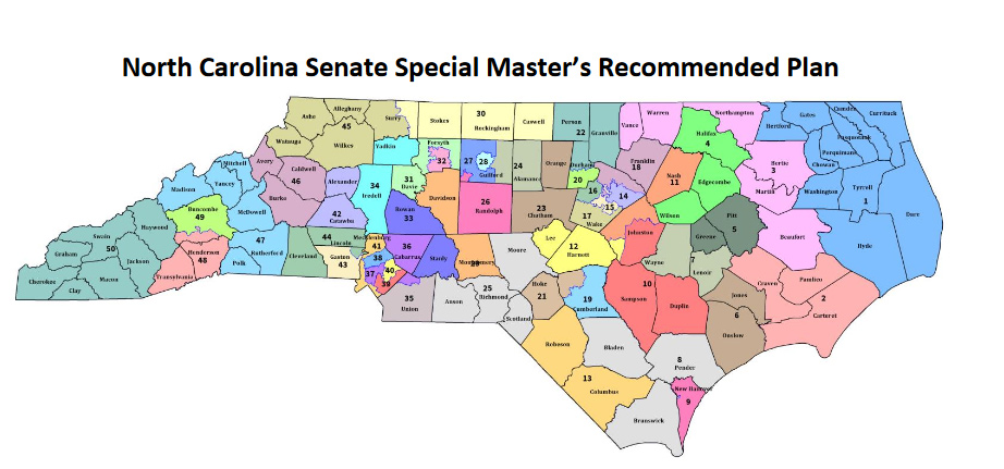 Nc State Map BREAKING: Special master releases proposed state legislative maps  Nc State Map