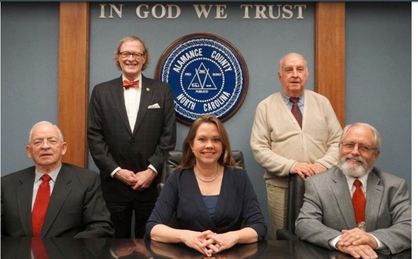 Alamance County Commissioners give a big thumbs down to