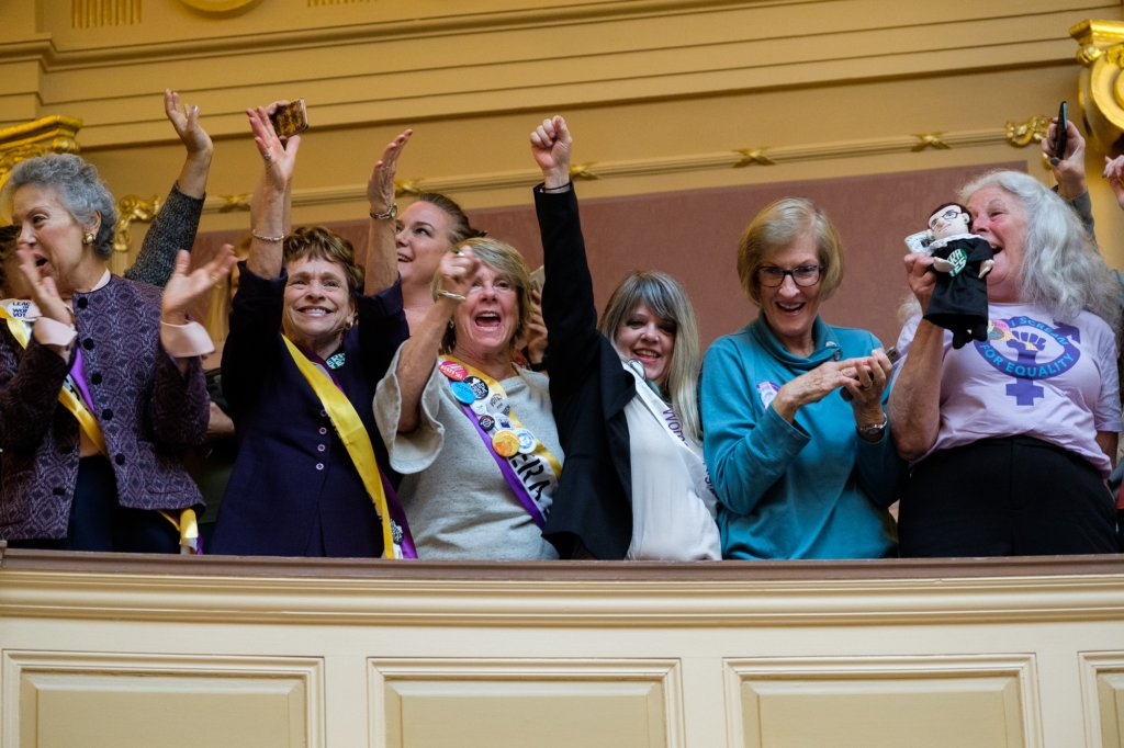 Virginia lawmakers vote to become pivotal 38th state to ratify ERA
