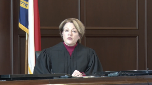 All judges took their oaths administered by the state Court of Appeals Chief Judge Donna Stroud.